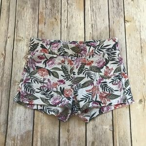 Girl's Old Navy Tropical Print Floral Shorts